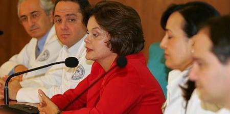 A ministra Rousseff concedeu entrevista em São Paulo (foto Agência Estado)